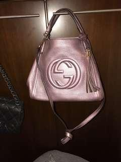 Gucci  Bag正品$3900,紫色,90%新淨,