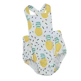 Baby Pineapple Romper Onesie