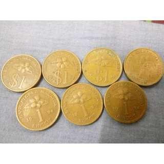 Duit Syilling RM1 dari 1990 - 1996