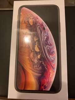 IPhone XS Gold 256GB (Sealed)