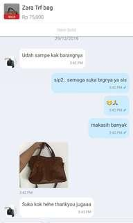 thankyou for trusting !