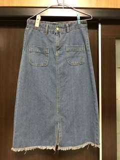 🚚 長版口袋裙