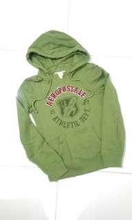 Original Aeropostale Military Green Overall Hoodie