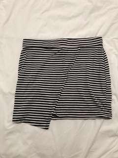 🚚 Striped Bandage Skirt