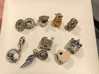 🚚 Pandora 二手 收藏珠珠們😊