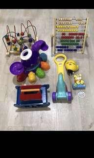 Preloved toys as pictured