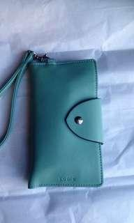 LODIS BRAND NEW LEATHER Smartphone wristlet