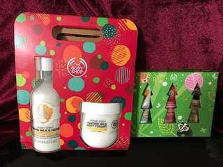 The Body Shop - Hand Cream, Shower Cream & Yourt Corps