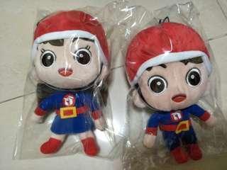 Popstation popsie poppie couple plushie stuffs toys boy girl