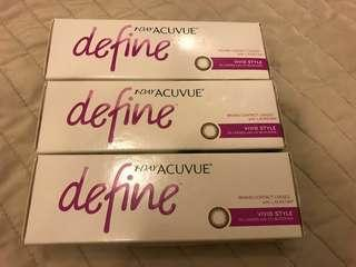 <Brand New> 1-DAY ACUVUE Define