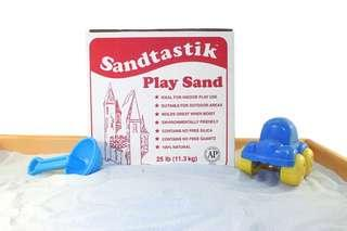 Sandtastik Sparkling White Play Sand (1kg) for Desktop Mini Zen Garden