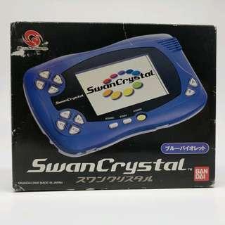 Swan Crystal 紫藍 盒說付