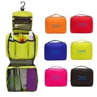 旅行出差防水洗漱包 男戶外旅遊用品 便攜整理收納袋 大容量化妝包女