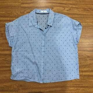 MNG Casual Top Blouse not Zara TRF