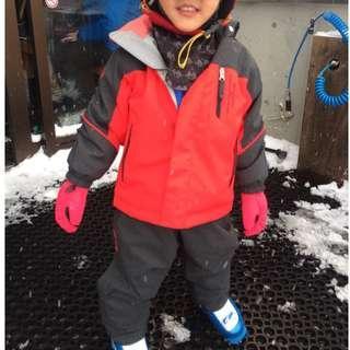 Descente Ski Jacket and Bib