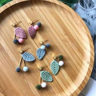 🚚 Oralee Leaf Earrings