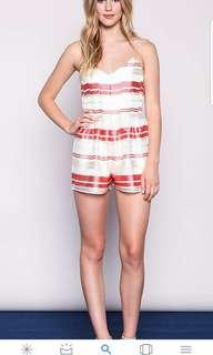 Authentic J.O.A striped romper