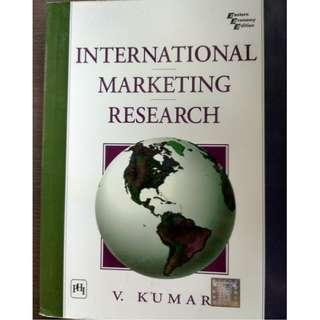 International Marketing Research by V. Kumar