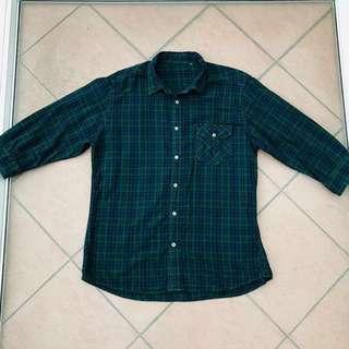 Uniqlo Flannel (3/4 Sleeve) #JAN55