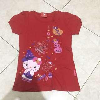 Hello kitty red t-shirt