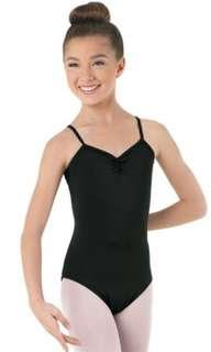 Balera High Back Black Leotard