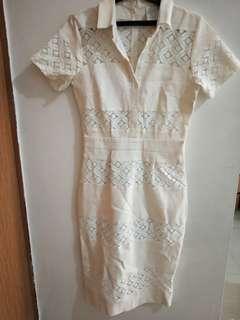 Ciel Broken White Dress