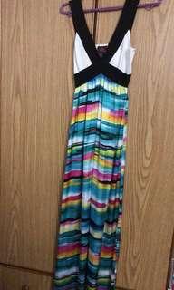 Bebe Dress XS size colourful