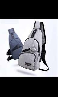 15559726f1 Male Shoulder Bags USB Charging Crossbody Bags Men Anti Theft Chest Bag  School Summer Short Trip
