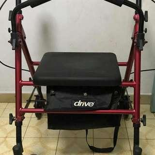Stroller/walker with Seat &  carriage bag