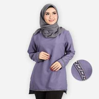 Adiba Plus Size Basic Blouse