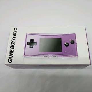Gameboy Micro Purple