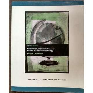 Formulation Implementation, and Control of Competitive Strategy by John A. Pearce II, Richard B. Robinson Jr. [Paperback]