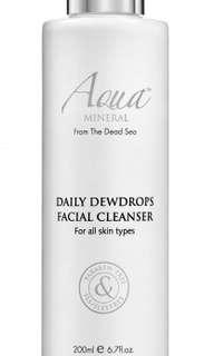 Daily Dewdrops Facial Cleanser and Toner