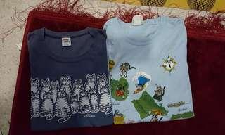 combo kucing gemuk crazy shirt