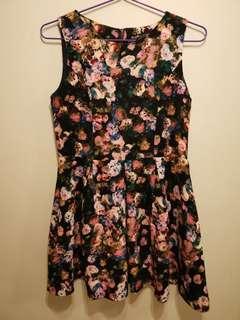 Suyé女裝連身印花裙