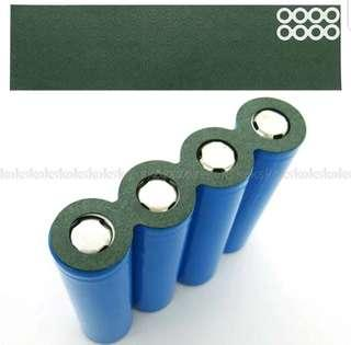 ***In-Stock =18650 Battery Anode Hollow Insulation Pad Pointed Barley Paper Gasket Au17 dropship (Price At 50pcs.)