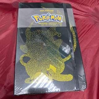 Moleskine x Pokemon notebook
