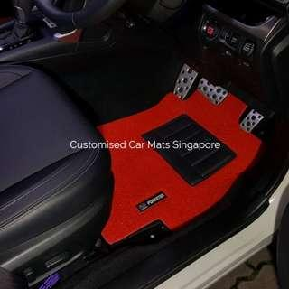 Subaru Forester 2008 - 2019 Car Mats