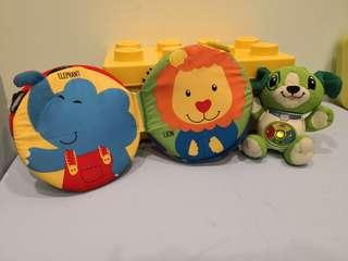 Baby Toys vtech and juggle pal softbook