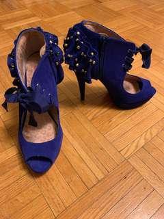 Cobalt blue *Betsy Johnson* heels