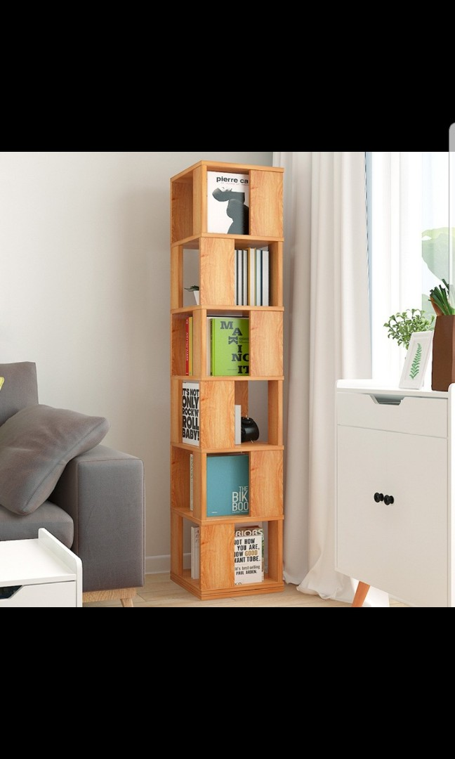 5/6 tier Rotating Bookshelf