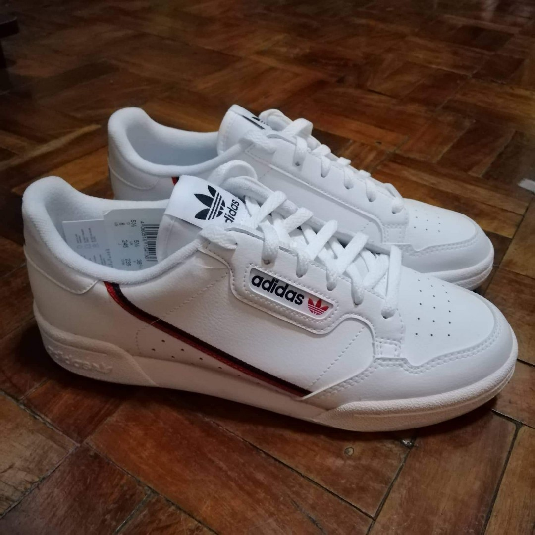 brand new 720cf ef5bb REPRICED Adidas Continental 80 Unisex, Womens Fashion, Shoes on Carousell
