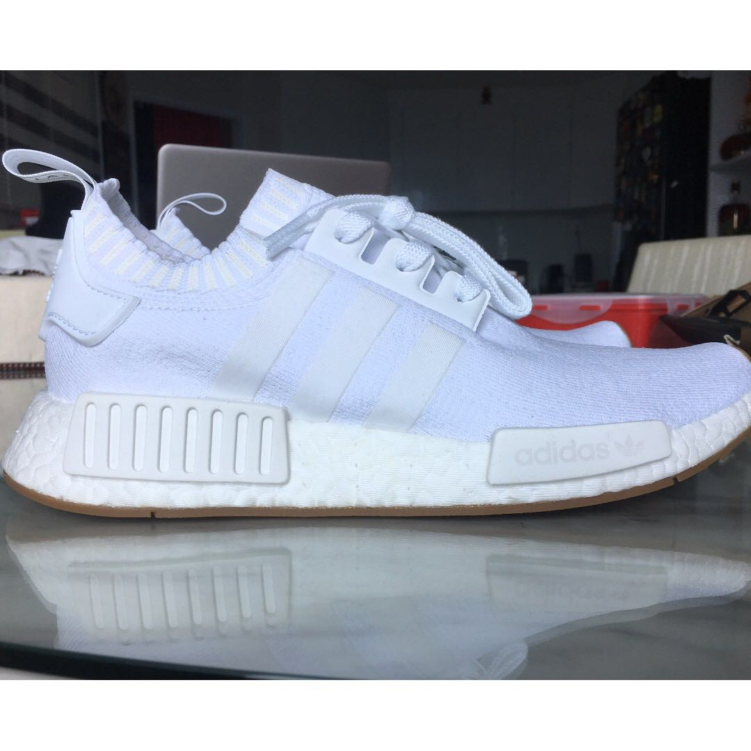 157f9166575 Adidas NMD R1 PK (White Gum)  US Sizes 8.5 and 10