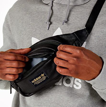 2159f0b781 Adidas Originals Black Gold Waist Bag