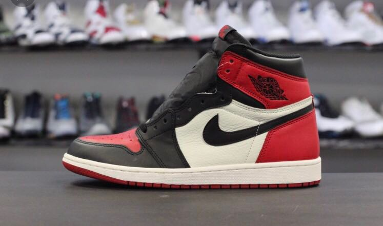 02609e2730815d Air Jordan 1 bred toe 2018
