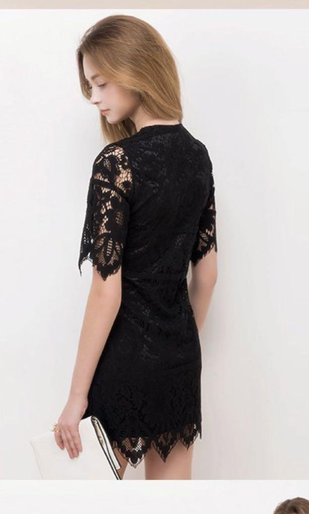 airspace black lace dress 🖤