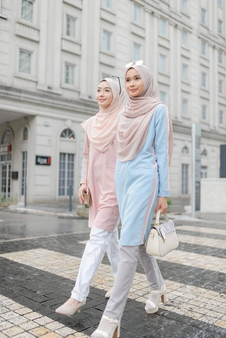 e13712fe3ed ANDREA TOP baju blouse peplum labuh kurta kurti dress, Women's ...