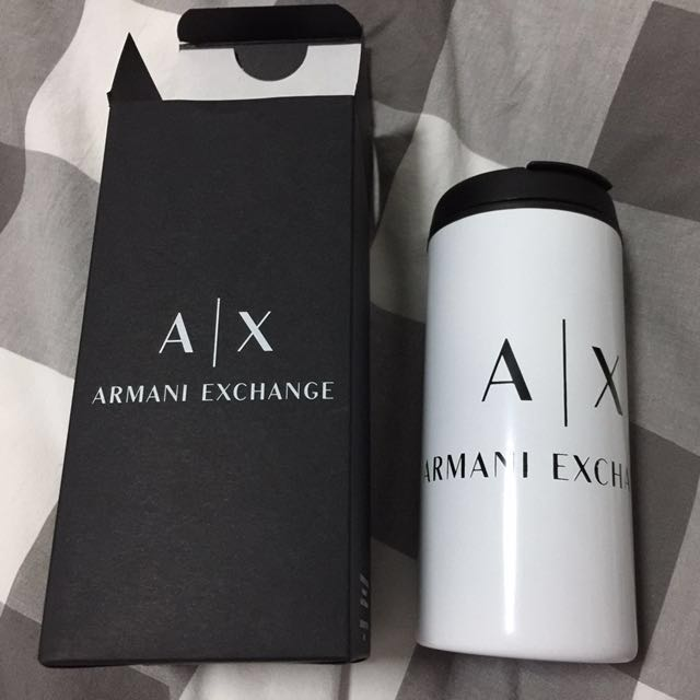 781dc359861a Armani Exchange (AX) tumbler (Authentic), Luxury, Accessories on ...