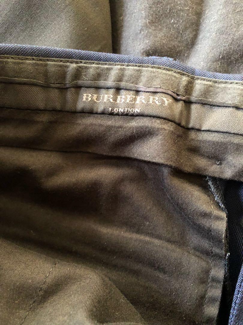 Authentic navy Burberry Suit