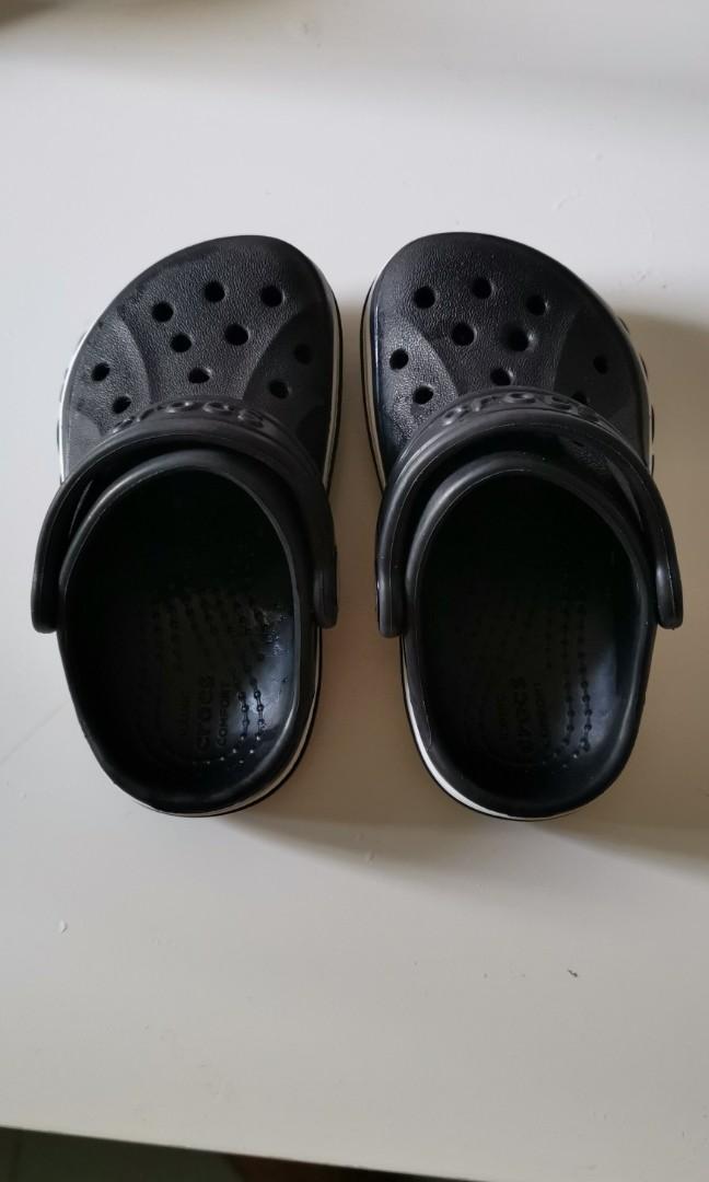 4d800bcea Bayaband clog charcoal crocs kids.